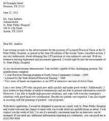 Bunch Ideas Of Cover Letters Examples Free Cover Letter Lpn Cover