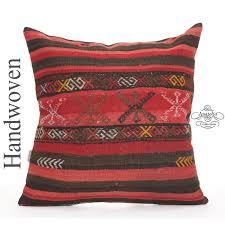 large ottoman outdoor floor throw pillow 24 striped
