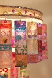 Lamp Van Exotische Stofjes Klas Ideetjes Leuke Ideeën Creatief