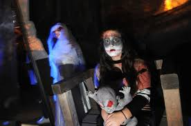 Kaleigh Jeffers, 15, during the 3rd annual Field of Screams ...