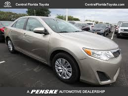 2014 Used Toyota Camry 4DR SDN I4 L AT at Central Florida Toyota ...