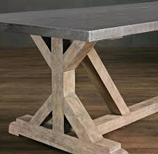 diy table base the chronicles of home rustic x base console table round dining table base