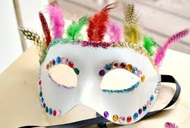 Decorating A Mask DIY decorated masquerade mask you can make in minutes 1