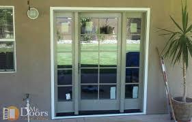attractive single glass patio door mr doorore inc sliding inside single door patio door