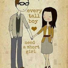 tall men for short women ;) height its just a number! :) on ... via Relatably.com