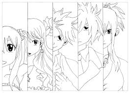 Small Picture Manga fairy tail krissy Manga Anime Coloring pages for