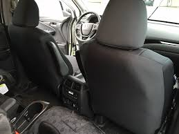 2016 honda pilot black neosupreme front full custom fit seat covers feature full same material backing and are made entirely of neosupreme