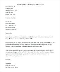 Nurse Resignation Letter Fascinating Sample Resignation Letter Format Download Best Of Gallery Of 48