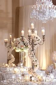chandeliers tabletop chandelier centerpieces for weddings dress up a candelabra centerpiece with a garland of
