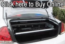 Car Trunk Gun Storage