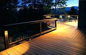 led decking lights garden outdoor deck lighting ideas for decks and