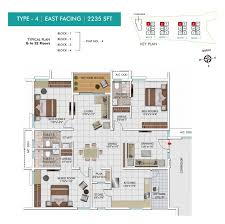 3 bhk 2235 sq ft apartment for