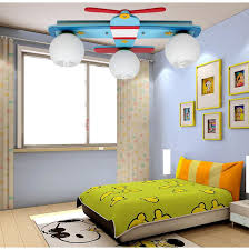 childrens bedroom lighting. Plane Model Children\u0027s Bedroom Ceiling Lights Boy Room Lamps Glass \u0026 Wood  Creative Rural Cartoon Kids Lighting Blue Colors-in Ceiling Lights From Childrens B
