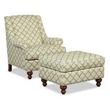 chair ottoman set. Hickory Craft Accent Chairs Chair \u0026 Ottoman Set R