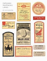 Label Design Free Elegant Apothecary Label Design Acilmalumat
