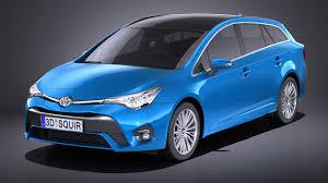Toyota Avensis Estate 2018 VRAY