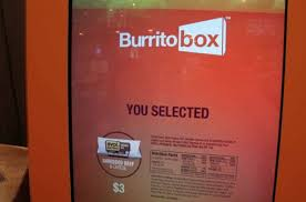 Burrito Vending Machine New Burrito Vending Machine Others