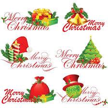 Free Vector Beautiful Merry Christmas Calligraphic