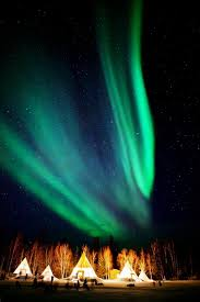 Northern Lights Ltd Vancouver Aurora Village Yellowknife Canada Pin Curated By
