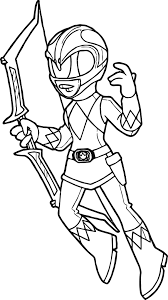 Green Power Ranger Coloring Page With Coloriage Power Ranger Dino