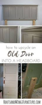 add lots of character in no time tutorial by jenni of roots and wings furniture rootsandwingsfurniture door olddoor headboard diy