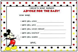 Free Download Mickey Mouse Birthday Invitations Invitation Templates