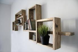 Creative Pallet Wall Shelf