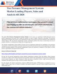Million Insights Tire Pressure Management Systems Market