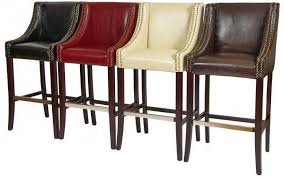 rockwell leather bar stools stools in red ivory brown and black leather bar stools t21