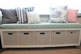 how to build a storage bench bookshelf turned bench diy outdoor storage bench seat plans