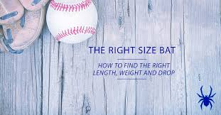 Weight Of Baseball Bat Chart What Is The Right Size Baseball Bat Spiders Elite