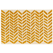 gold bars rug  the land of nod