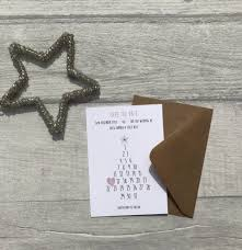 Winter Themed Save The Date Card By Paper Pocket