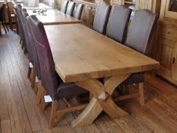 oak dining table. Chateaux Oak Dining Table E