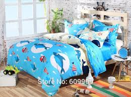 33 sweet inspiration ocean bedding twin blue shark fish theme boys girls cute bed sheets full queen 100 cotton duvet cover set 5 pieces in sets from home on