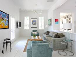 modern white floors. White Wooden Floors And Clapboard Walls Are The Perfect Choice For This Modern Eclectic Beach House. F