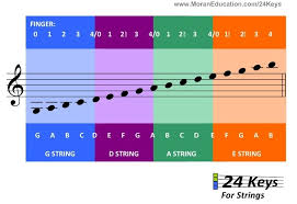 Cello Notes Chart Beginners Notes On The Staff And What String They Are On