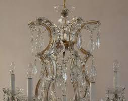 image of vintage maria theresa chandelier