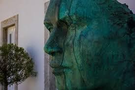yüz, heykel, metal, bronz, şekil, portre, adam, cascais, Portekiz, kale,  deniz | Pikist