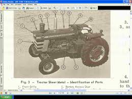 massey ferguson mf 1100 1130 tractor service manual it s all here