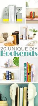 20 Unique DIY Bookends - Frugal Mom Eh!
