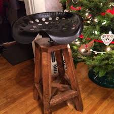 wooden tractor seat bar stools. Tractor Seat Stool | Do It Yourself Home Projects From Ana White Wooden Bar Stools B
