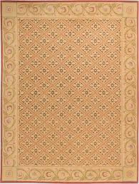 european inspired aubusson rug