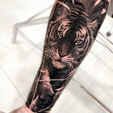 Realistic Tiger By Matias Noble Matiasnoble Blackandgrey Realism