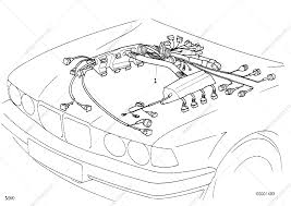 engine wiring harness for bmw 7' e32, 730i m60 sedan (ece), 1993 6 Pin Wiring Harness Diagram parts list is for bmw 7' e32, 730i m60 sedan (ece), 1993