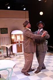 uncle paulie s world  keith warren and g valmont thomas as willie and sam in master harold and the boys at fremont s west of lenin photo john ulman