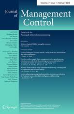 of management control journal of management control