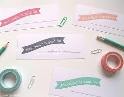 Printable Homemade Coupons Free Printable Mothers Day Coupons To Make Moms Day