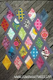 Sew Sweetness: Tutorial: Diamond Lattice Pillow | quilts ... & Quilt tutorials Adamdwight.com