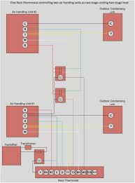 nest thermostat humidifier wiring diagram nest one nest two air handlers page 3 on nest thermostat humidifier wiring diagram